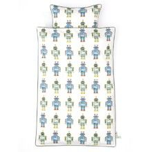 Cute robot bedding