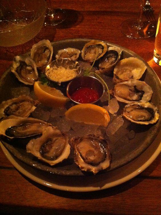 Oysters at Sandbar :)