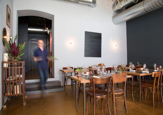 Fusionsküche beim Karmelitermarkt. Una Abraham gab Das Engel im Karmeliterviertel auf, Sebastian Neuschler machte daraus die Marktlücke. Mit neuem Küchenkonzept und neuem Interieur.