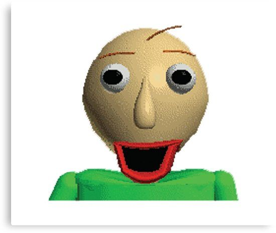 Happy Baldi In Baldi S Basics In Education And Learning Canvas