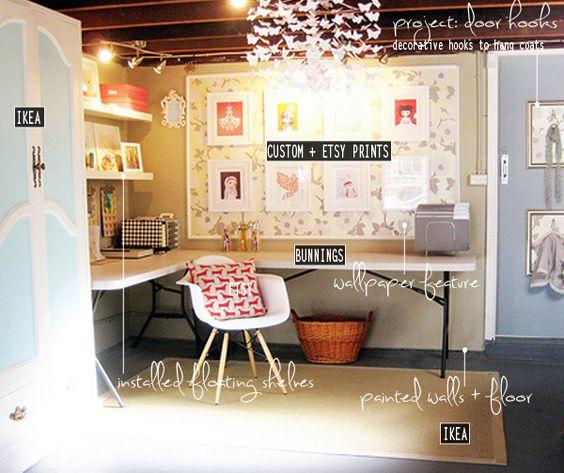 Lighting Ideas Ceiling Basement Media Room: Unfinished Basement Ideas