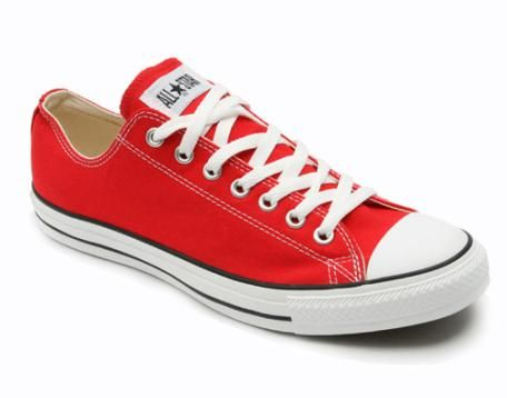 low priced f7322 f3d35 red converse   I wore that    Red low top converse, Red sneakers, Red  converse