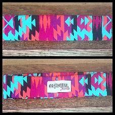 aztec print stretch headband www.outhousejewels.com