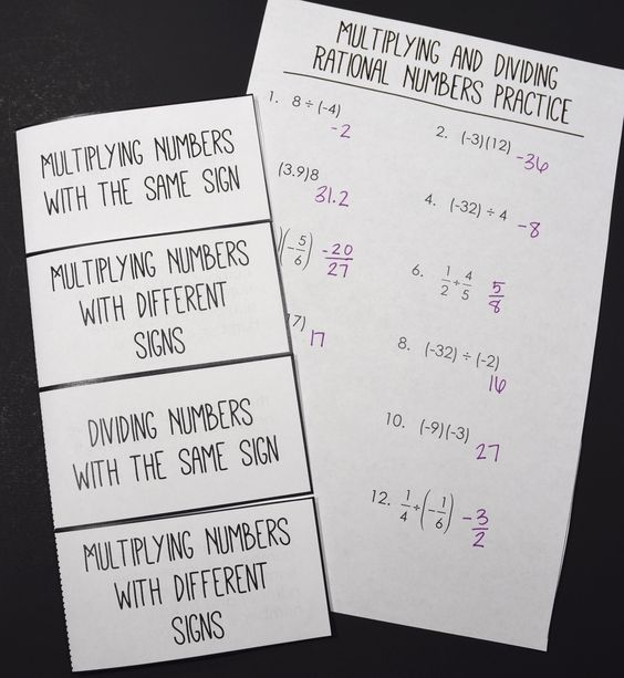 Multiply And Divide Rational Numbers Worksheet – Multiplication and Division of Rational Numbers Worksheet