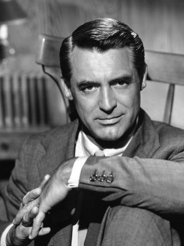 Photographic Print: Cary Grant, 1956 : 24x18in
