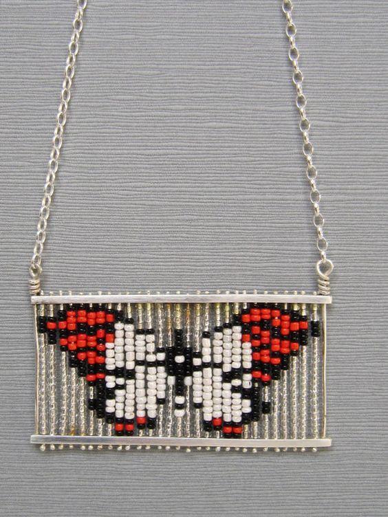 Butterfly Pendant by AwakeAndDream on Etsy, $275.00