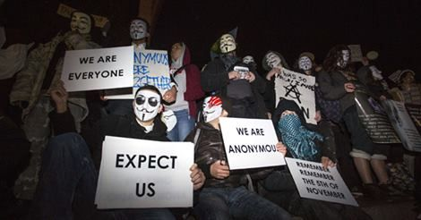 Anonymous claims it has taken down thousands of ISIS Twitter accounts https://www.facebook.com/