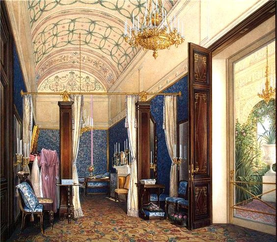 A well-known painter, watercolourist middle of the XIX century was, and Edward P. Hau.