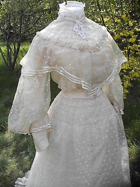 1905 - robe de mariée