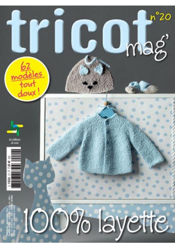 tricot mag 20 100 layette magazine tricot editions de saxe editions de saxe livres de. Black Bedroom Furniture Sets. Home Design Ideas
