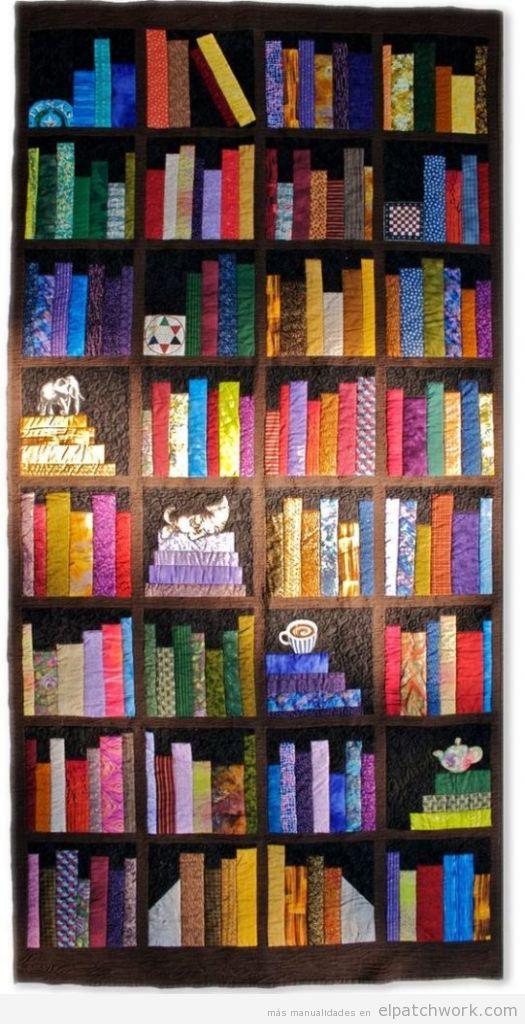 10 Colchas de patchwork modernas y coloridas • El Patchwork