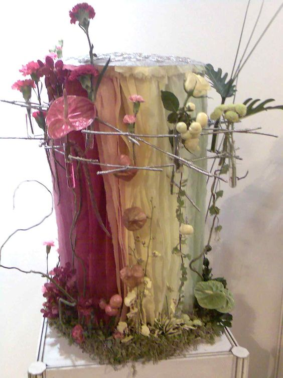idées composition florale | unique flower arrangements