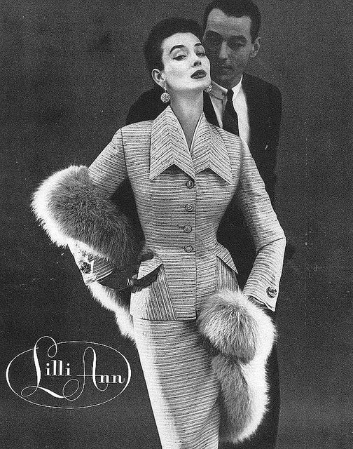 vintage fashion ad