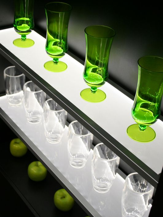 California Closets DFW - Lighting eluma acrylic inserts