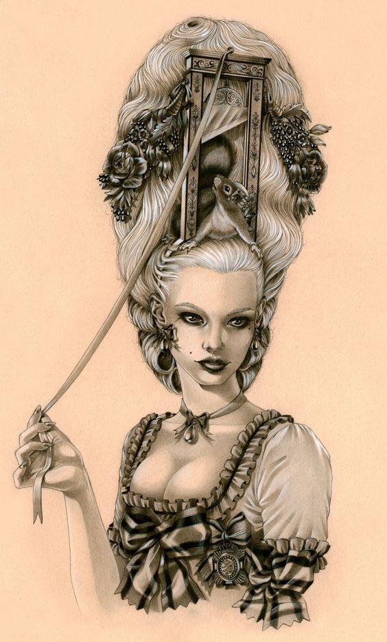 Madame la Guillotine by Zoe-Lacchei.deviantart.com on @deviantART
