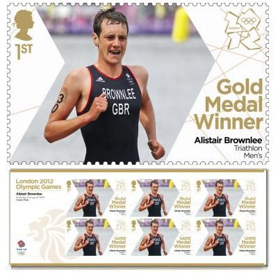 Large image of the Team GB Gold Medal Winner Miniature Sheet - Alistair Brownlee