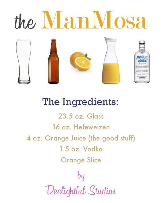 Devious Drink: The Man-Mosa - DeviousGentlemen