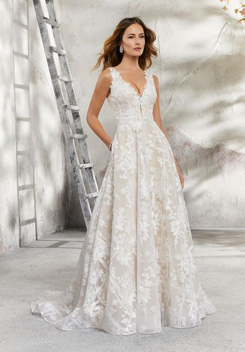 Undefined In 2020 Mori Lee Wedding Dress Wedding Dress With Pockets Wedding Dress Styles