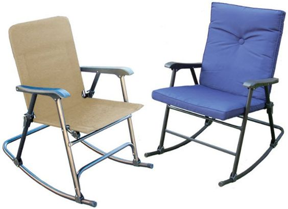 Portable folding rocking chair Stonegate Odessa – Folding Rocking Lawn Chairs