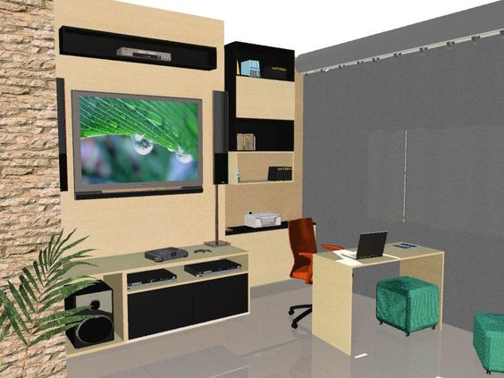 #trabalho de um dia com o Rosenbaum - Está é minha primeira idéia para a sala que quero renovar....