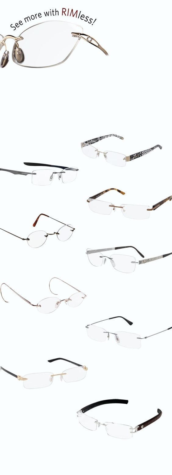 Rimless Glasses Makeup : Pinterest The world s catalog of ideas