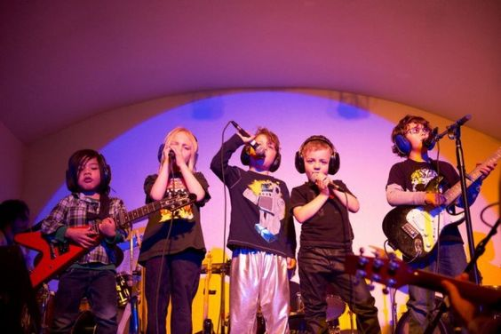 Show your kids what it means to rock 'n roll at SF's Rock Band Land, a music and creativity school that offers classes and summer camps for kids.