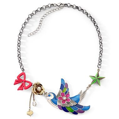 betseyville 174 bird fashion necklace jcpenney costume