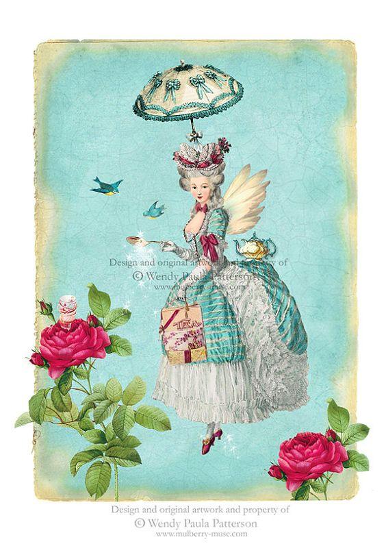 Marie Antoinette as Marie Poppins