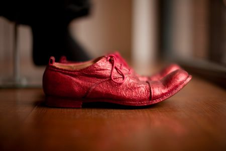 Paul Harnden Red Shoe. My life would be complete if only I owned a pair of these!!!!