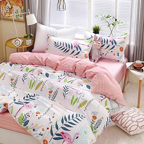 Cotton Duvet Cover Set Bedding Single Bed Set Three Piece Student Dormitory Single Quilt Cover Sheets S Queen Size Bed Blanket Bed Bedding Sets