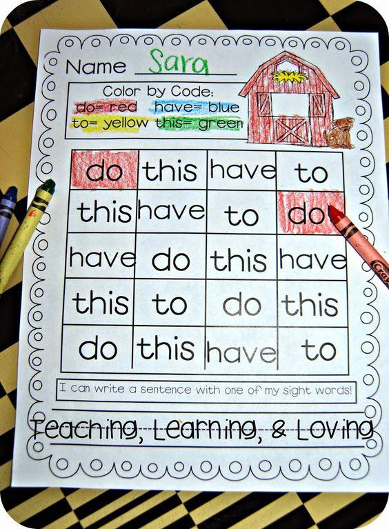 25 Ways To Teach Sight Words Creative Classroom Ideas