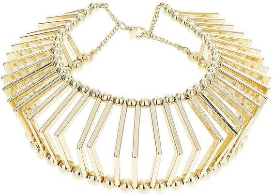 Pin for Later: Halsreife sind zurück Topshop Enge Halskette in Gitteroptik Topshop Enge Halskette in Gitteroptik (früher 46, jetzt 25€)