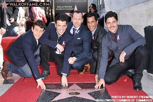 New Kids on the Block | Hollywood Walk of Fame