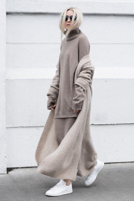 Winter/Spring 2016 Style Inspirations: Minimalist + Oversized