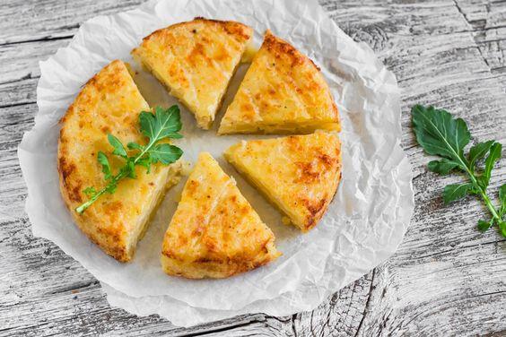 Spanisches Gericht Essen Kartoffeln Tortilla Eierkuchen Eierspeise Rezept Tapas Party