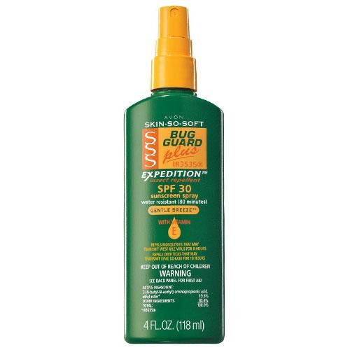 Skin So Soft Bug Guard Plus IR3535® Expedition™ SPF 30 Pump Spray | Avon
