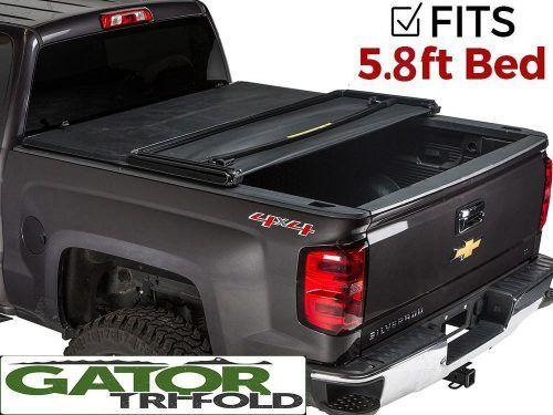 Gator Tri Fold Tonneau Truck Bed Cover Truck Bed Covers Best Truck Bed Covers Cool Trucks