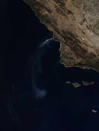 Creek Fire, California