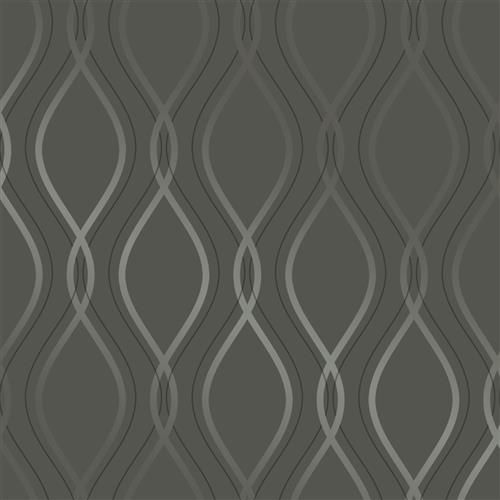 Metallic Silver Tear Drop Removable Wallpaper In 2021 Removable Wallpaper Contemporary Home Decor Modern Wallpaper