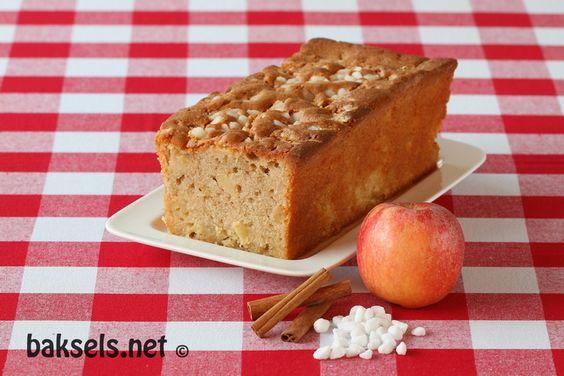 baksels.net | appel-kaneelcake met parel- of kandijsuiker http://www.baksels.net/post/2013/10/04/Appel-kaneelcake.aspx