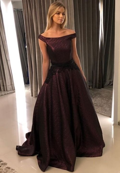 Vestido Longo Em Tons De Marsala E Vinho Fashion Vestido