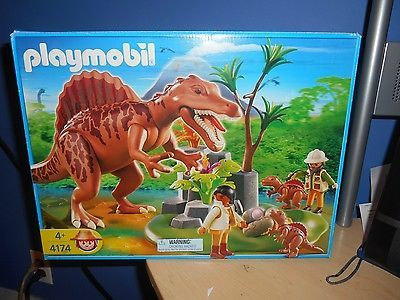 Spinosaurus jurassic park and playmobil on pinterest - Dinosaur playmobile ...