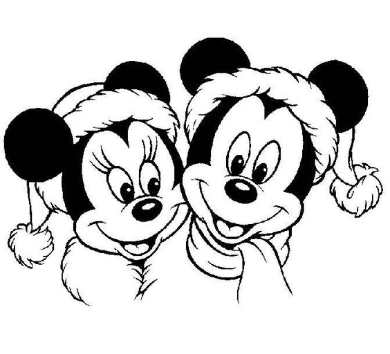 Minnie Mouse Coloring Pages And Colouring Pages On Pinterest