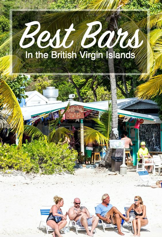 Where to get the best Dark & Stormy, classic Painkller, and more... plus unbeatable atmosphere in the BVI.