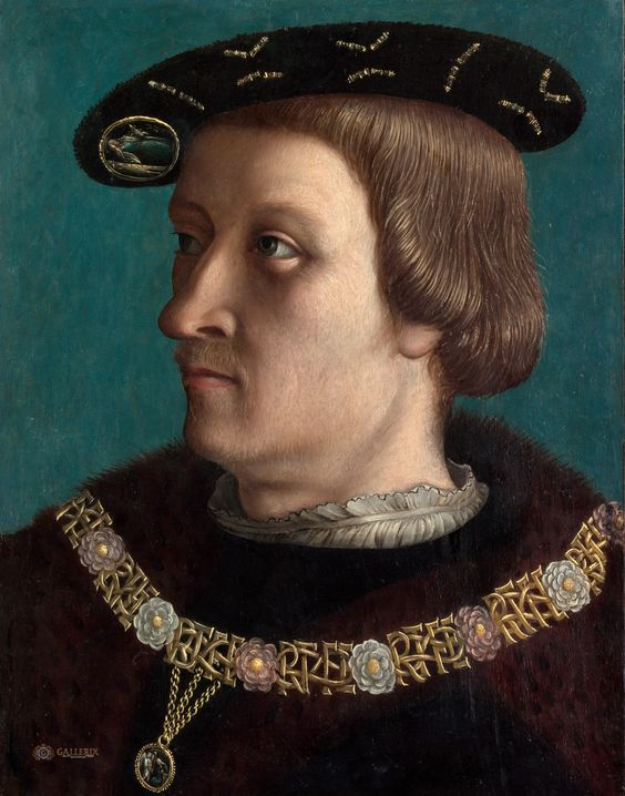 Swiss Painter, first quarter 16th century - Portrait of a Man Wearing the Order of the Annunziata of Savoy