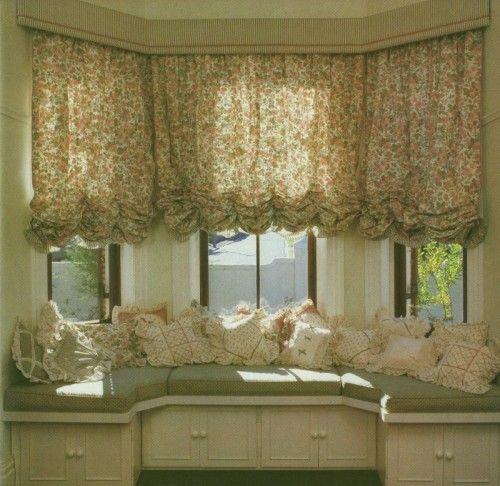 Tipos de cortinas visillos y estores cortinas para for Tipos de cortinas para salon