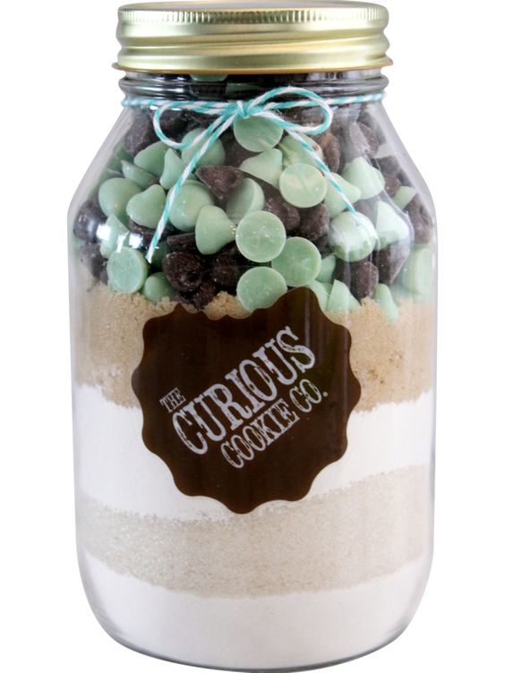 YUM! Mint Chocolate Chip Blend http://curiouscookieco.com/