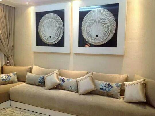 Idee deco salon marocain moderne ~ Solutions pour la décoration ...