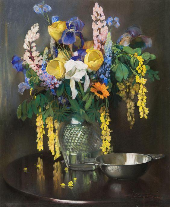 Firmin Baes  (1874-1943)  —  Happy Bunch (1050×1280)