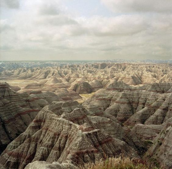 Badlands of South Dakota: Photo by Photographer Mike Marcotte - photo.net